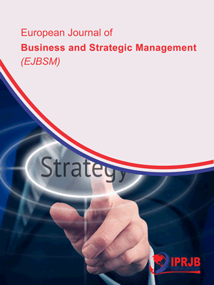 strategic management journal The importance of the strategic management process in the knowledge-based economy ştefan nedelea the bucharest academy of economic studies, romania.
